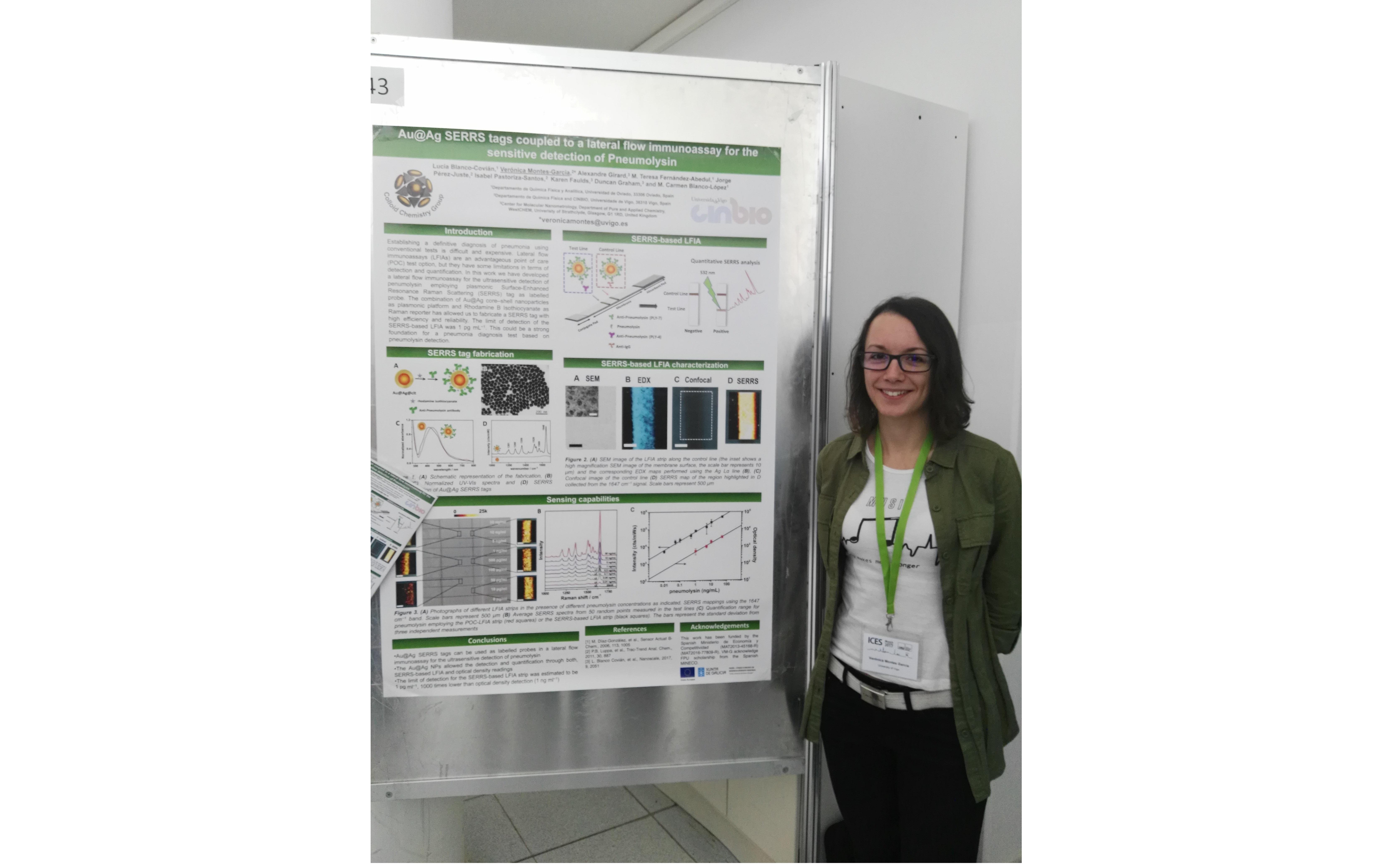 Verónica Montes-García poster presentation