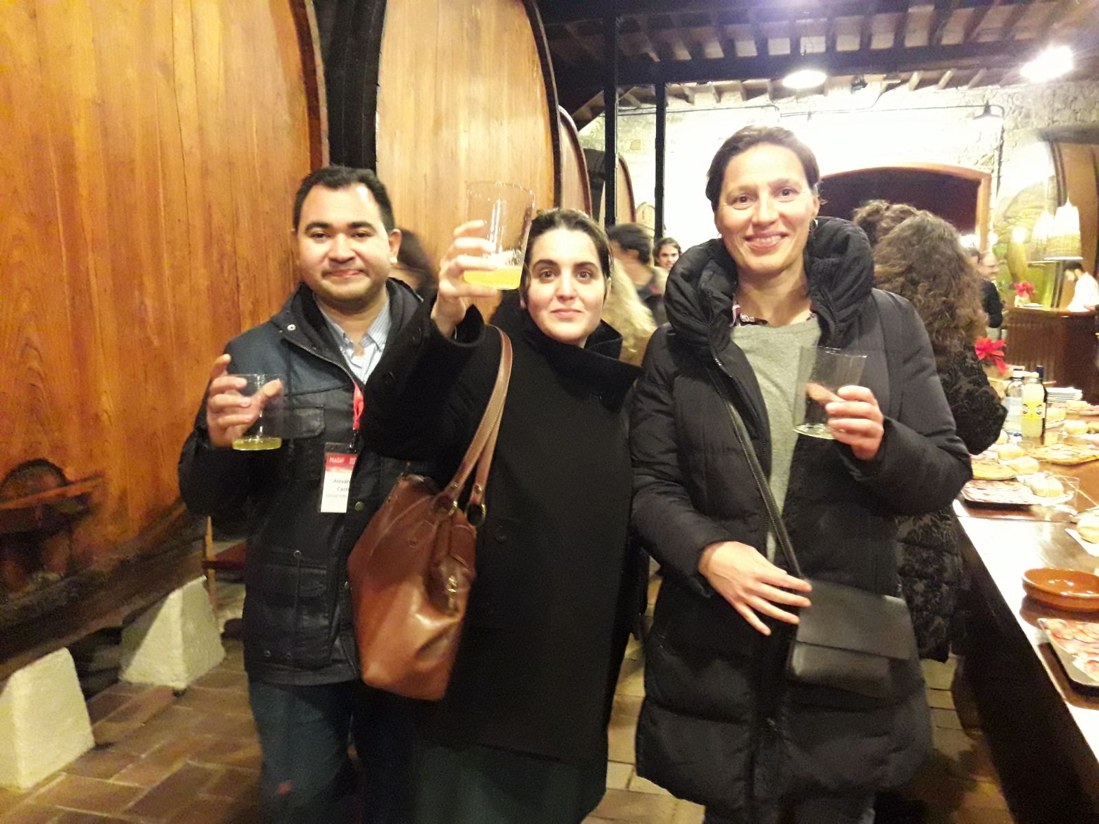 Our group tasting ''Sidra Asturiana''