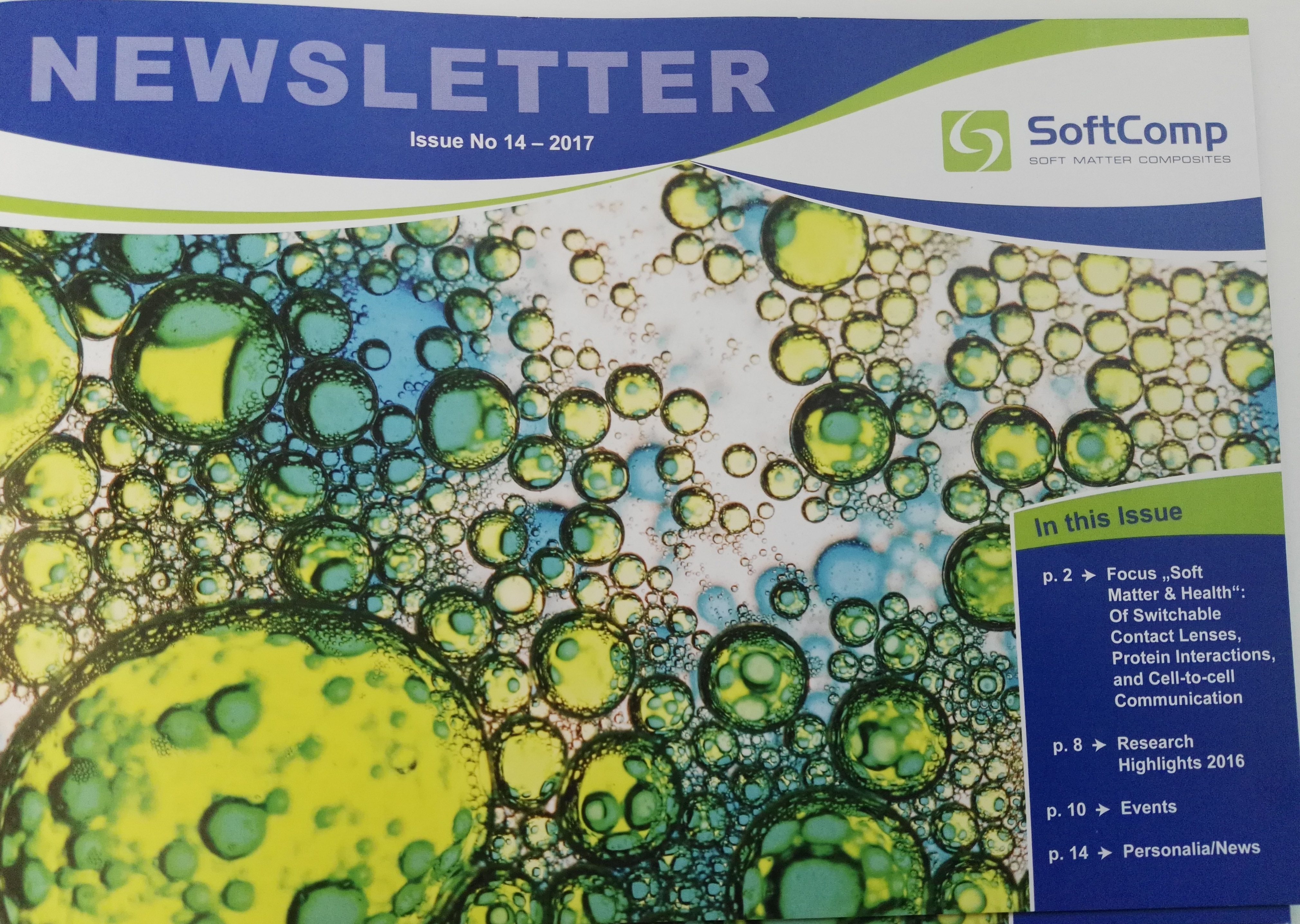 SoftComp Newsletter July 2017