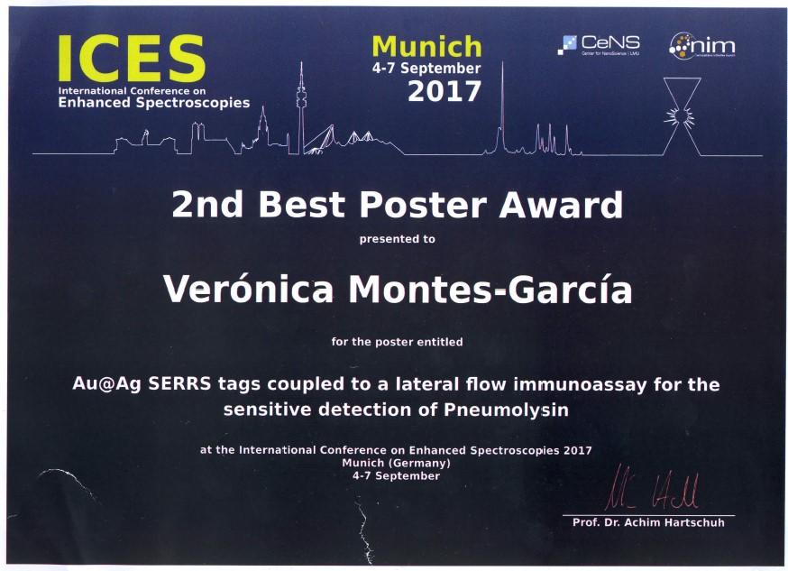 2nd Best Poster Award