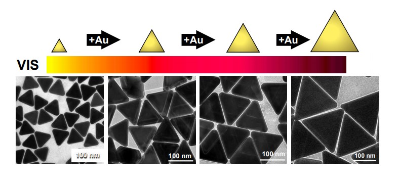 Seeded Growth Synthesis of Gold Nanotriangles: Size Control, SAXS Analysis, and SERS Performance