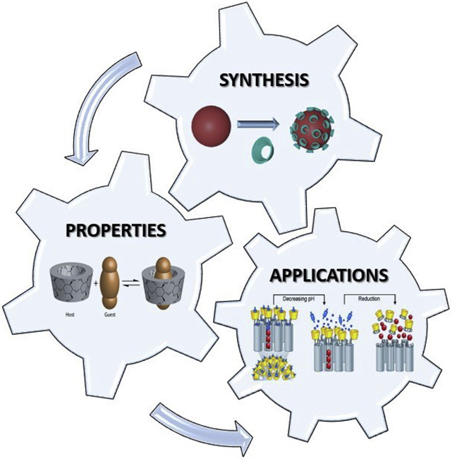 Cyclodextrins and inorganic nanoparticles: Another tale of synergy